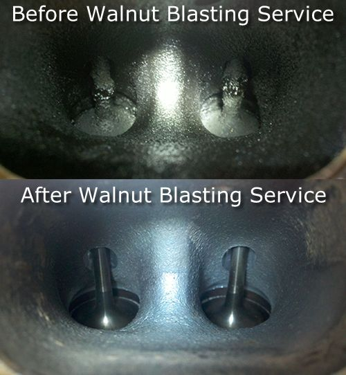 Walnut Blast Before & After